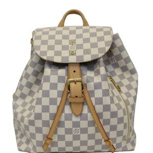 LOUIS VUITTON SPERONE DAMIER AZUR BACKPACK BAG